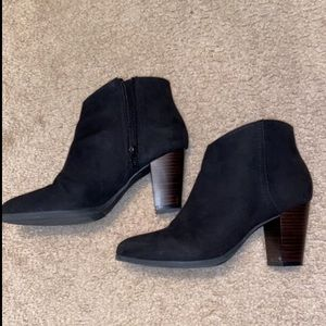 Size 6 Barely Worn Black Old Navy Boots
